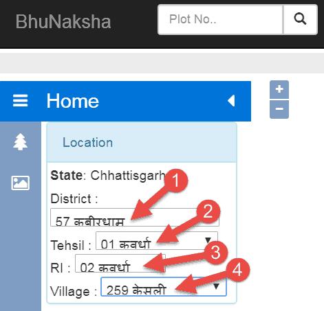 bhu-naksha-cg