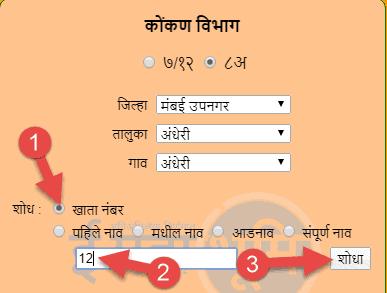 भूलेख-महाराष्ट्र