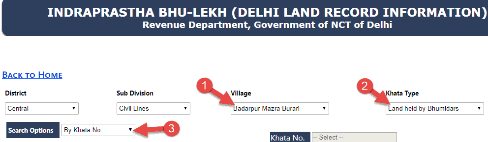 delhi-bhulekh-online