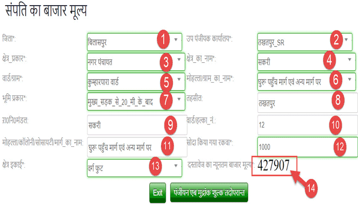 check-govt-rate-of-land-in-chhattisgarh